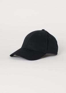 H&M H & M - Cotton Twill Cap - Black