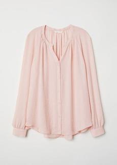 H&M H & M - Crêped Blouse - Pink