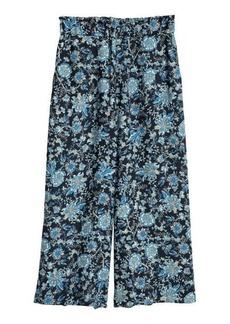 H&M H & M - Crêped Culottes - Blue
