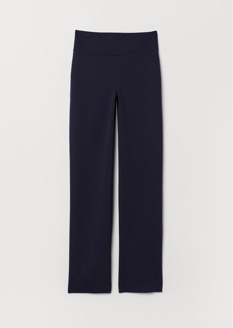 H&M H & M - Crêped Jersey Pants - Blue