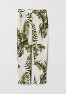 H&M H & M - Crêped Pants - White