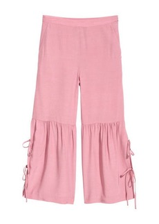 H&M H & M - Culottes with Lacing - Pink