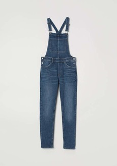 H&M H & M - Denim Bib Overalls - Dark denim blue - Women