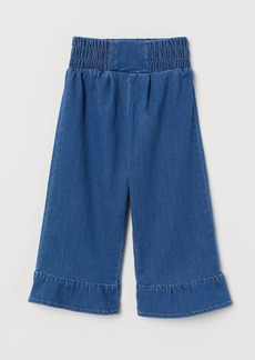 H&M H & M - Denim Culottes - Blue