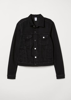 H&M H & M - Denim Jacket - Black
