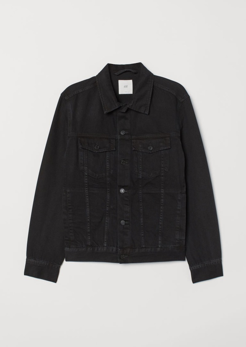 H&M H & M - Denim Jacket - Black