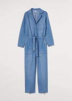 H&M H & M - Denim Jumpsuit - Blue