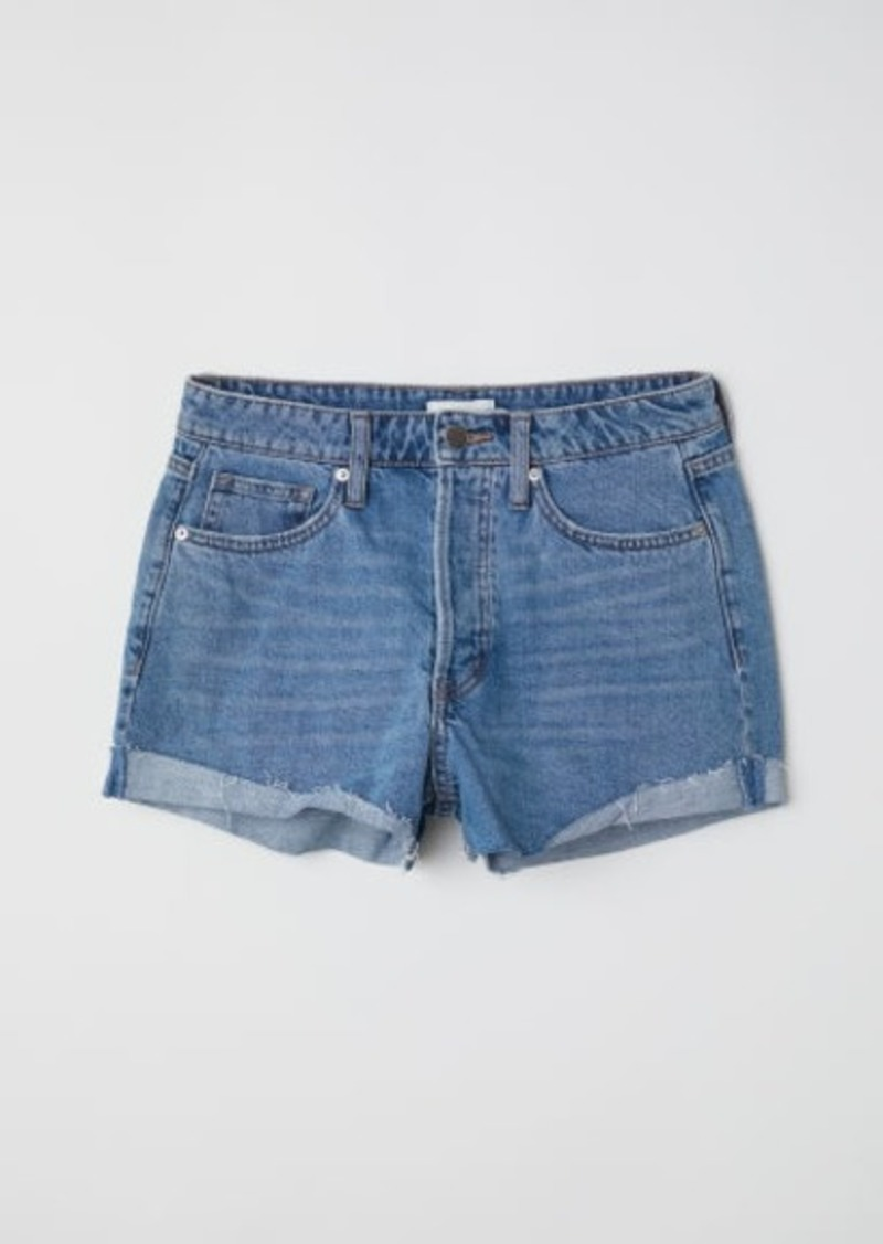 H&M H & M - Denim Shorts - Blue