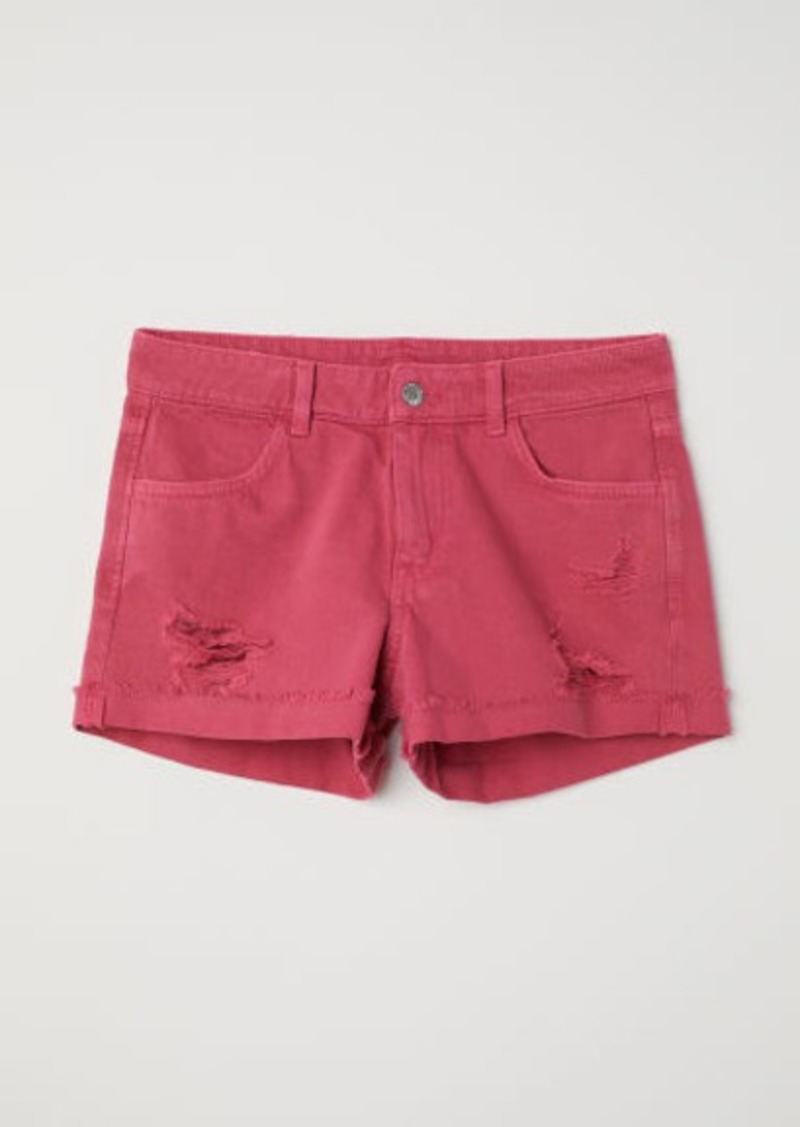 H&M H & M - Denim Shorts - Red