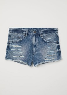 c12a5fcb3 H&M H & M - Denim Shorts Skinny Regular - Blue