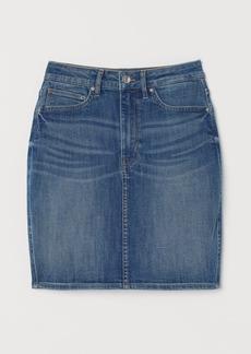 H&M H & M - Denim Skirt - Blue