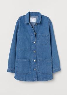 H&M H & M - Denim Utility Jacket - Blue