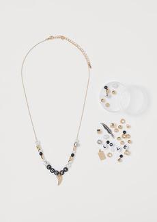 H&M H & M - DIY Necklace - Silver