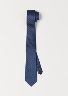 H&M H & M - Dotted Tie - Blue
