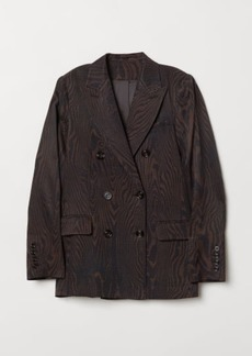 H&M H & M - Double-breasted Blazer - Brown