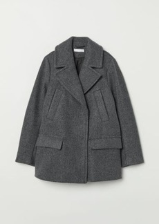 H&M H & M - Double-breasted Jacket - Gray