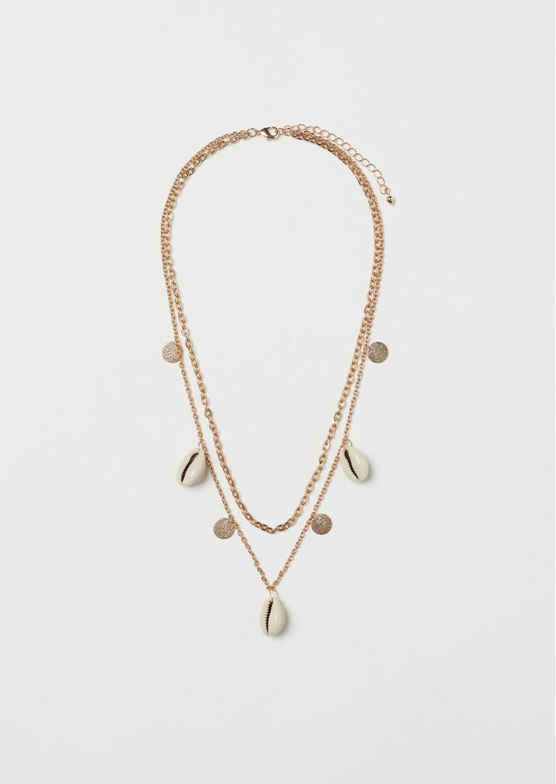 H&M H & M - Double-strand Necklace - Gold