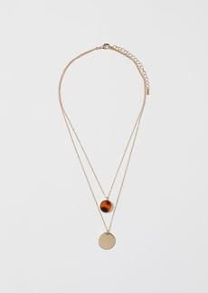 H&M H & M - Double-strand Necklace - Orange