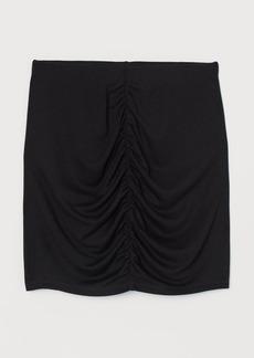 H&M H & M - Draped Skirt - Black