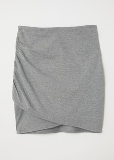 H&M H & M - Draped Skirt - Gray