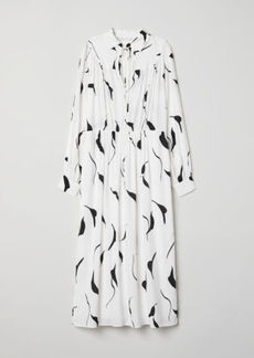 H&M H & M - Dress with Collar - White