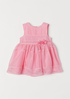 H&M H & M - Dress with Flowers - Pink