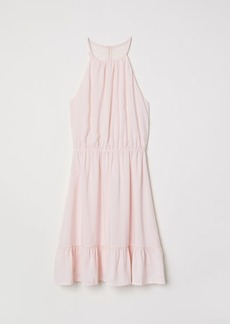 H&M H & M - Dress with Lace Back - Pink