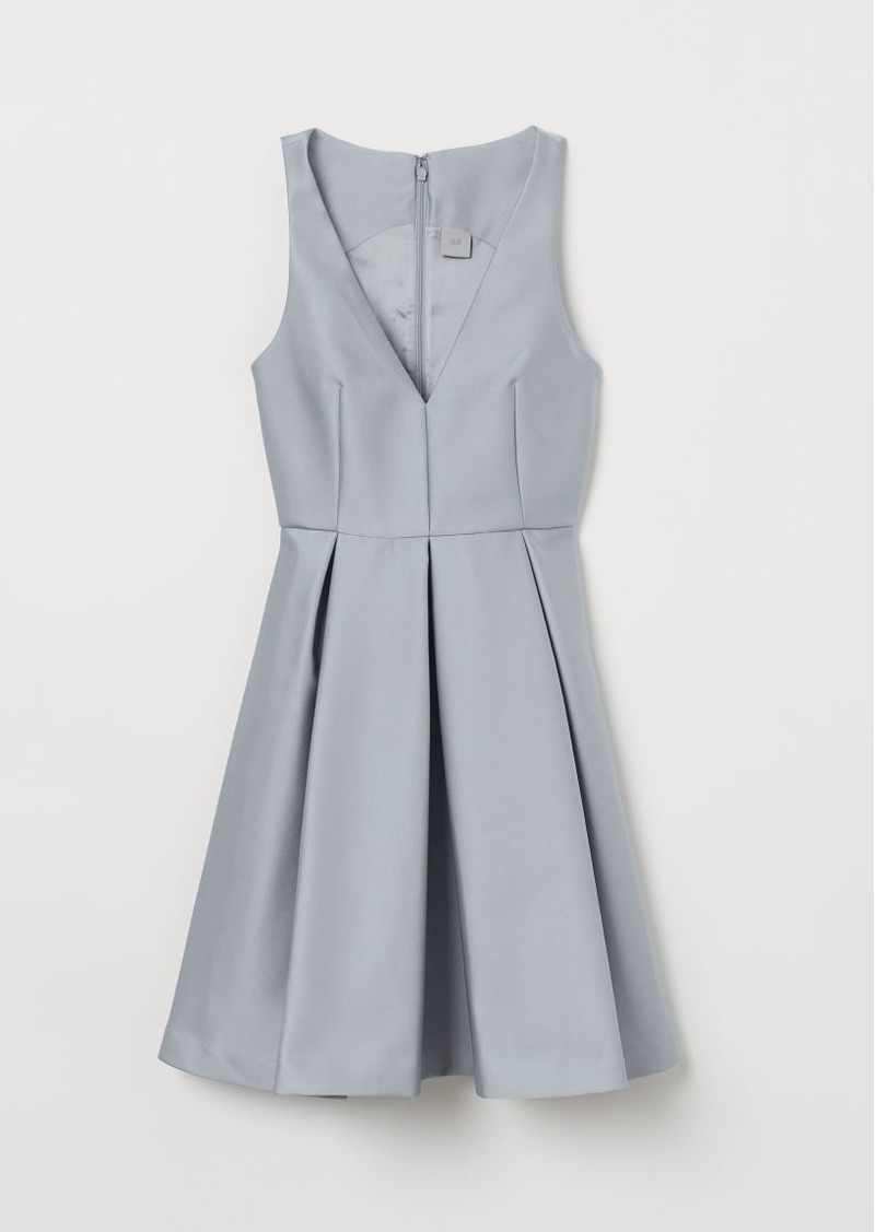 H&M H & M - Dress with Sheen - Turquoise