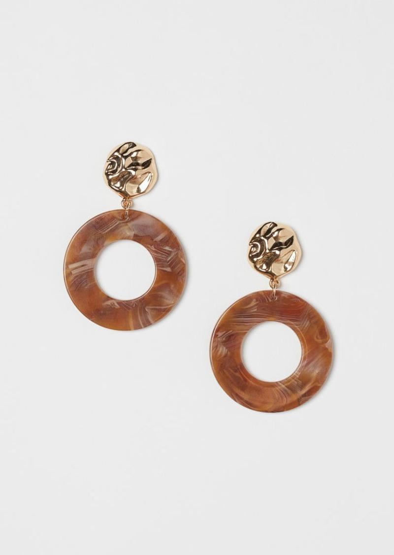 H&M H & M - Earrings - Beige