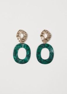 H&M H & M - Earrings - Green