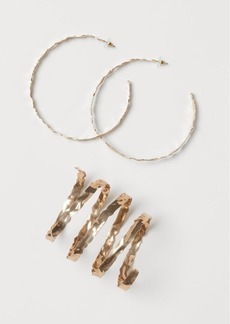 H&M H & M - Earrings and Bracelet - Gold