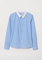 H&M H & M - Easy-iron Shirt - Blue