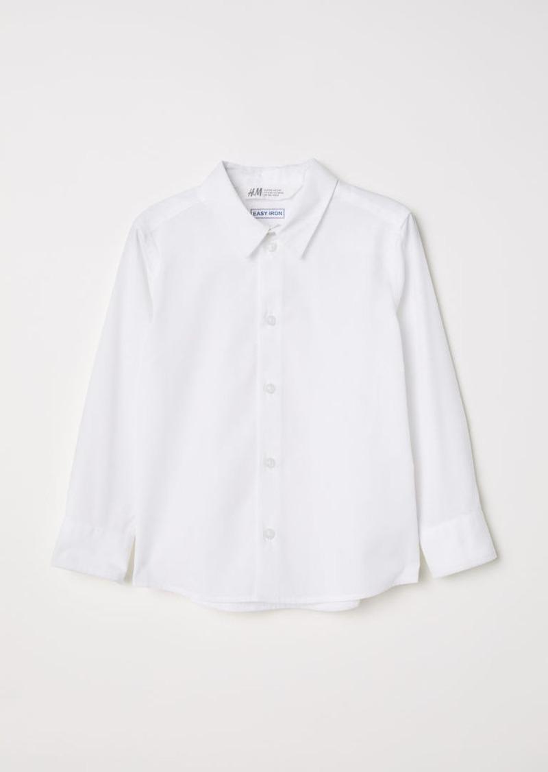 H&M H & M - Easy-iron Shirt - White