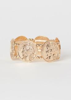 H&M H & M - Elastic Bracelet - Gold