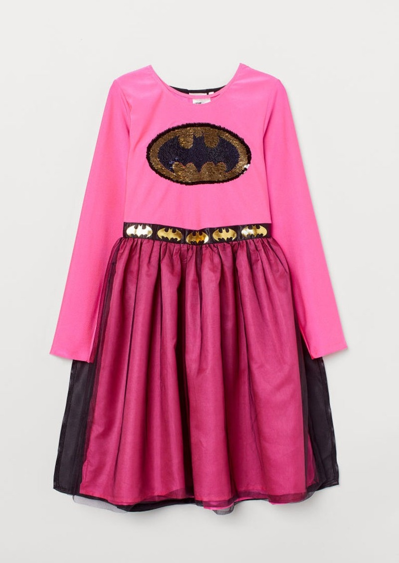 H&M H & M - Costume Dress with Cape - Pink