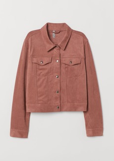 H&M H & M - Faux Suede Jacket - Pink