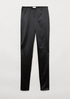 H&M H & M - Faux Suede Pants - Black