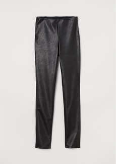 H&M H & M - High-waist Pants - Black