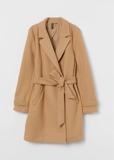 H&M H & M - Felted Coat - Beige