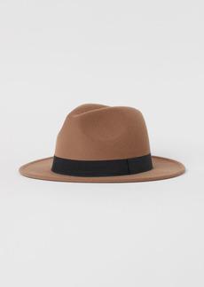 H&M H & M - Felted Hat - Beige