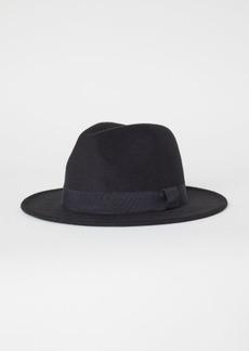 H&M H & M - Felted Hat - Black
