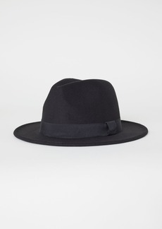 H&M H & M - Felted Hat - Black