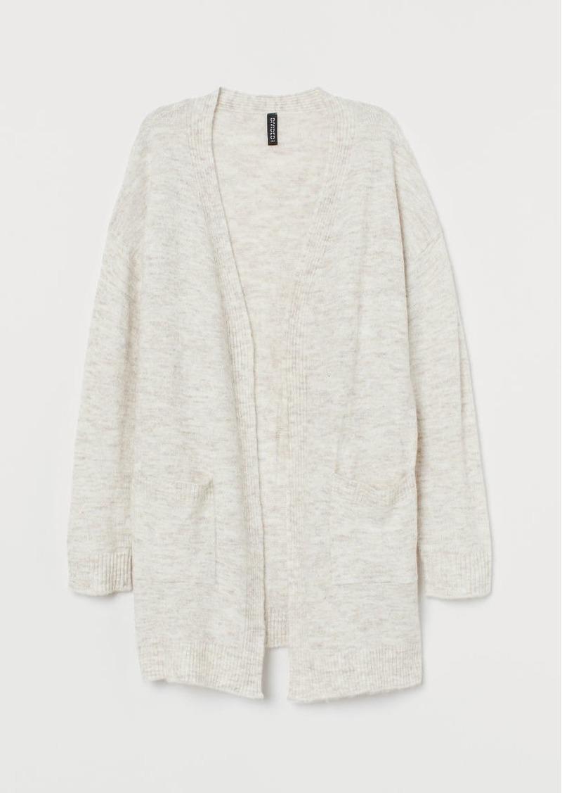 H&M H & M - Fine-knit Cardigan - Beige