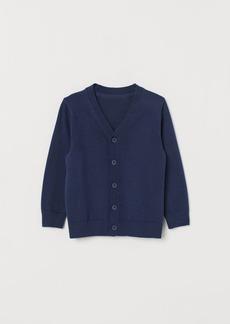 H&M H & M - Fine-knit Cardigan - Blue