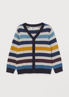 H&M H & M - Fine-knit Cardigan - Yellow