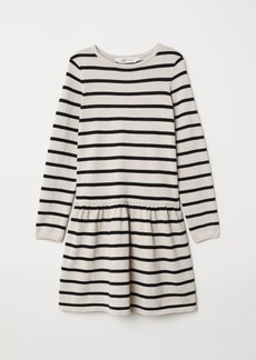 H&M H & M - Fine-knit Dress - Beige