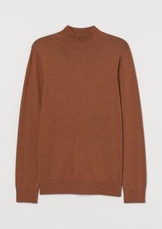 H&M H & M - Fine-knit Modal-blend Sweater - Beige