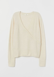 H&M H & M - Fine-knit Sweater - Beige