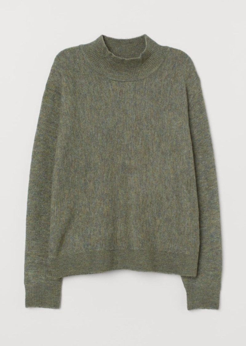 H&M H & M - Fine-knit Sweater - Green