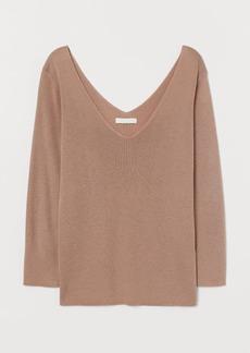 H&M H & M - Fine-knit Sweater - Orange